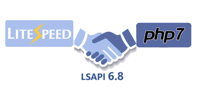 LSAPI 6.8 officially released to support PHP 7