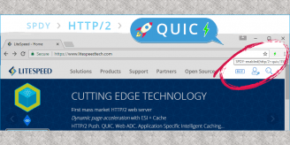 LiteSpeed is powered by QUIC