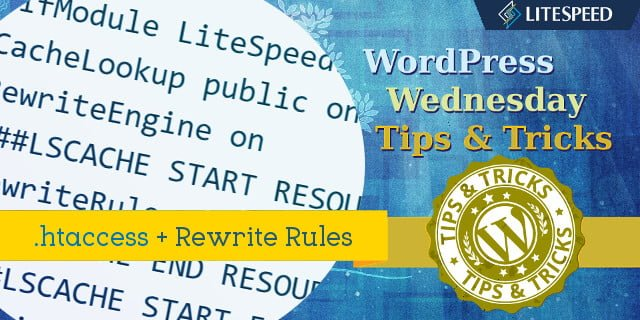 WpW: .htaccess and Rewrite Rules
