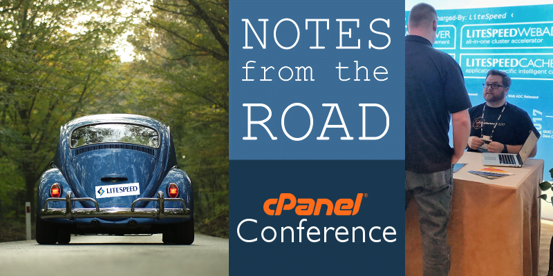 Notes From the Road: cPanel Conference