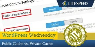WpW: Private Cache vs. Public Cache