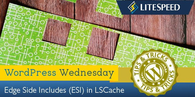 WordPress Wednesday: Edge Side Includes Caching