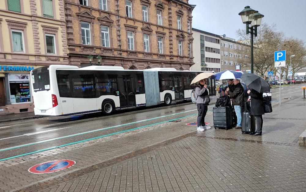 CloudFest 2018: Offenburg in the Rain