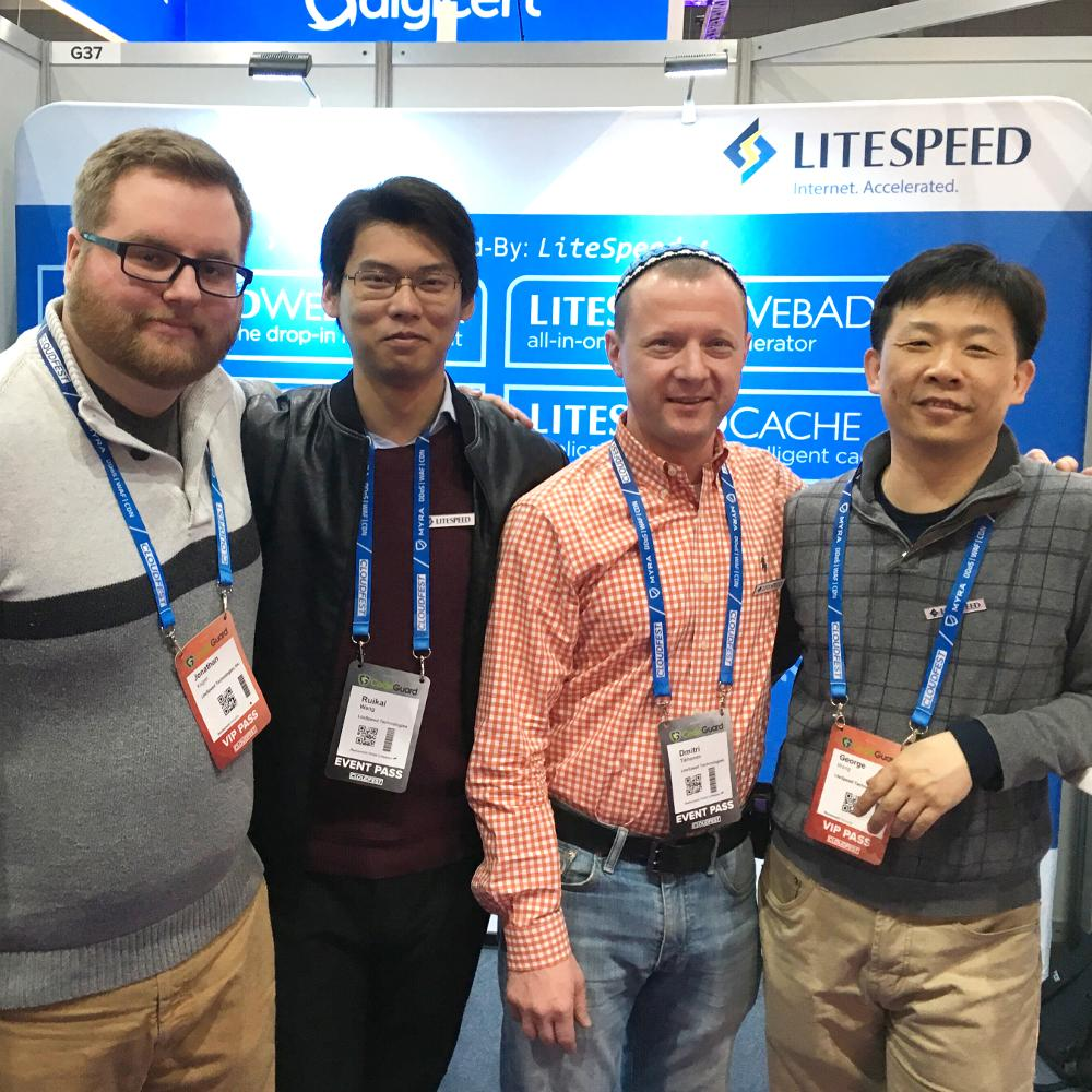 CloudFest 2018: Jon, Ruikai, Dmitri, and George