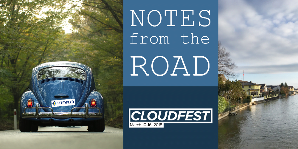 Notes from the Road: CloudFest 2018