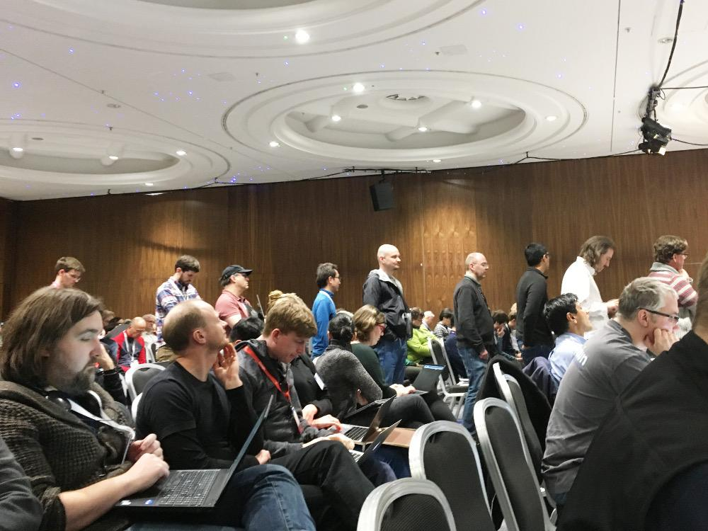 IETF 101: Microphone queue