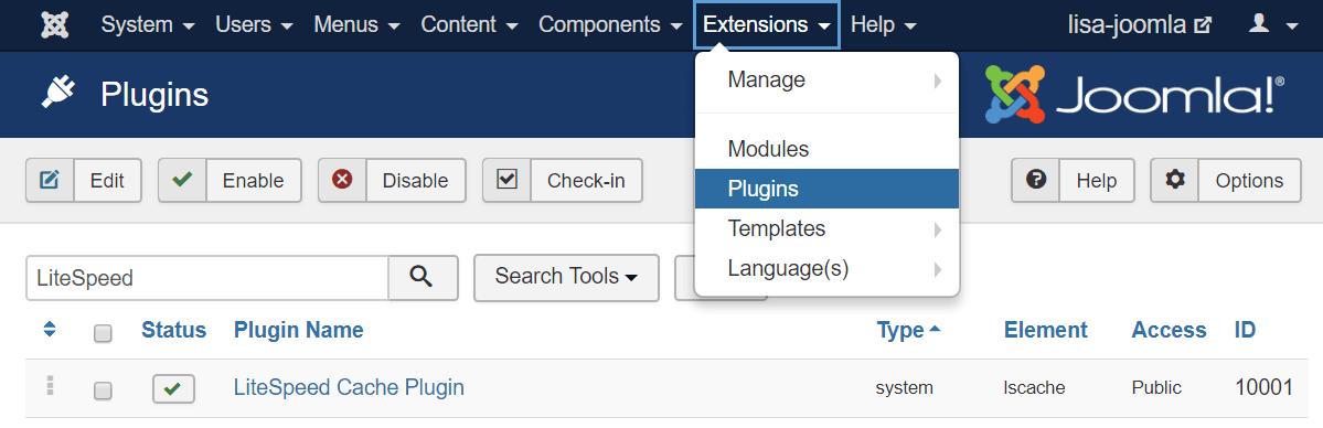 Beginners Guide to LiteSpeed Cache for Joomla ⋆ LiteSpeed Blog