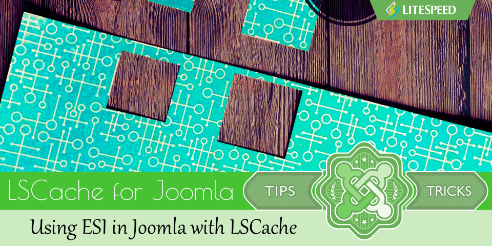 JT: Using ESI in Joomla with LSCache