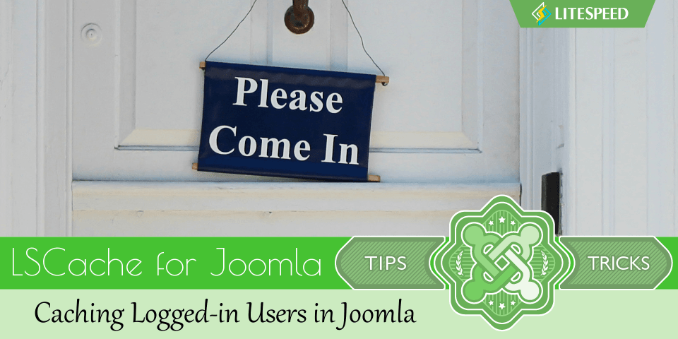 JT: Caching Logged-in Users in Joomla