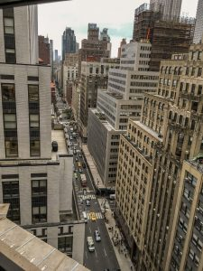 QUIC Interim NYC Recap: Madison and 41st Street from the 19th floor