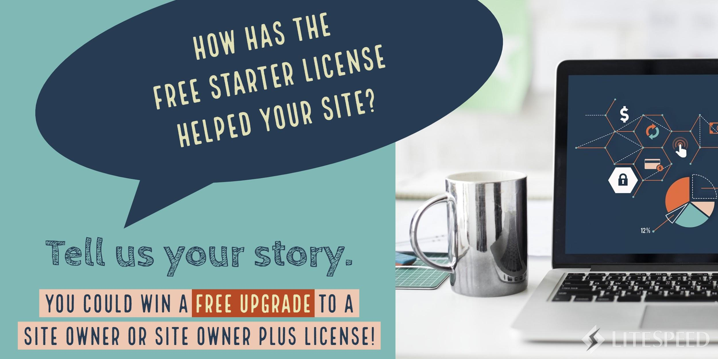 Win an Upgrade to a Free Site Owner License!