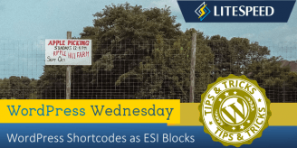 WpW: WordPress Shortcodes as ESI Blocks