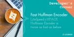 Fast Huffman Encoder