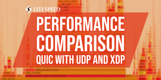 Performance Comparison of QUIC with UDP and XDP
